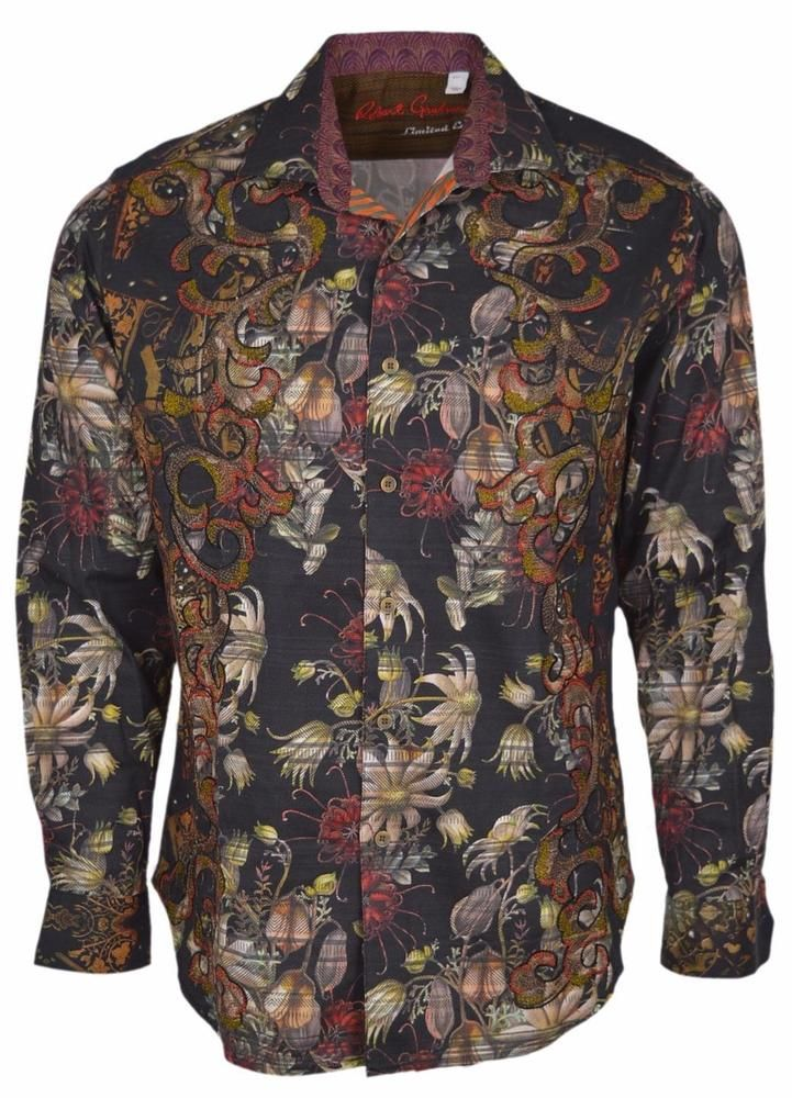 New Robert Graham Classic Fit Tribes Of Galway Limited Edition Sport Shirt Xl Robertgraham Buttonfront Sports Shirts Mens Outfits Sport Outfit Men