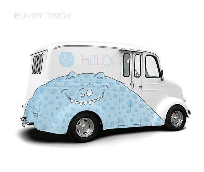 Monster Milk   Designer: Eskimo - http://www.eskimodesign.ru/