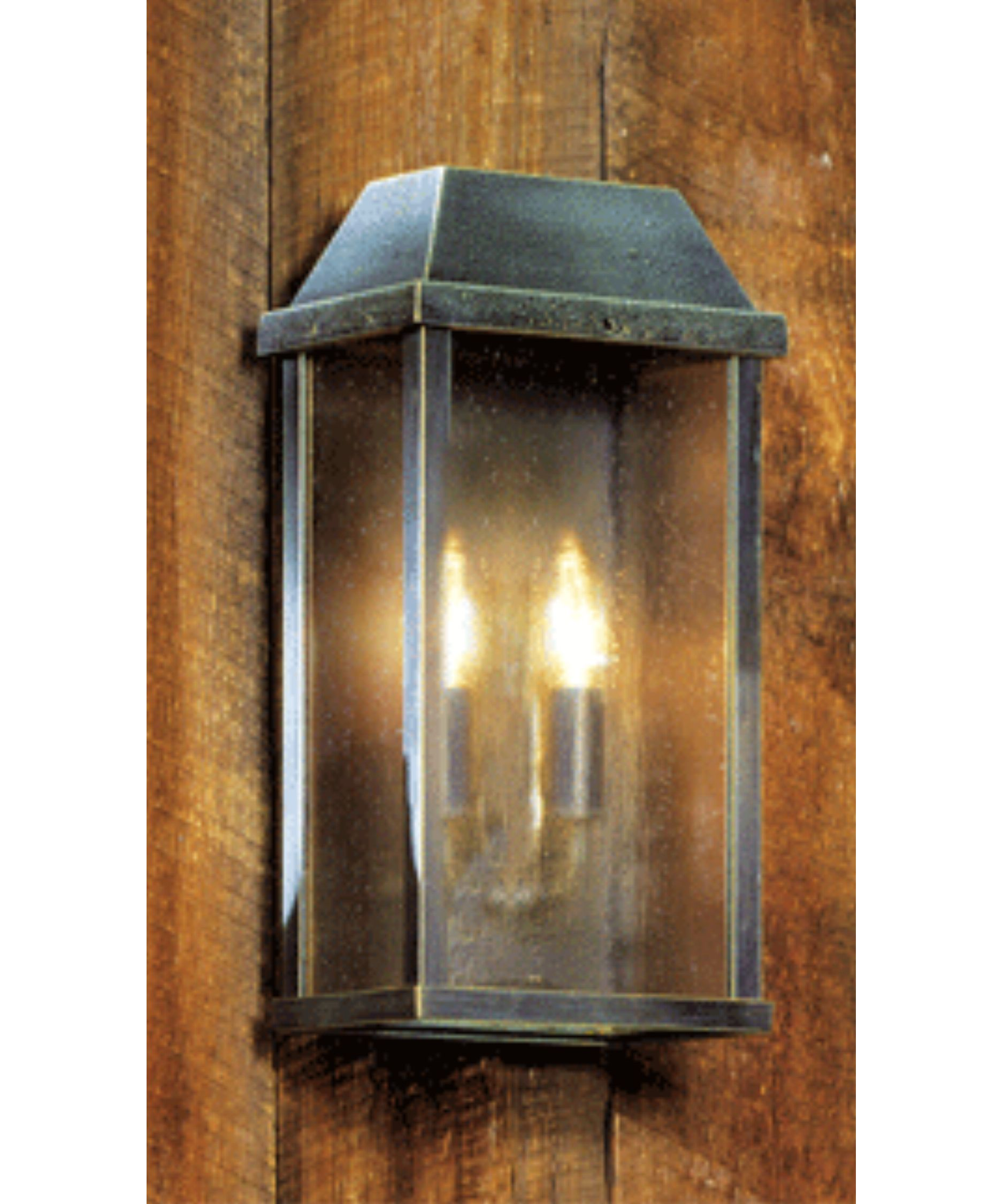Hanover Lantern B8503 M Large 2 Light Outdoor Wall