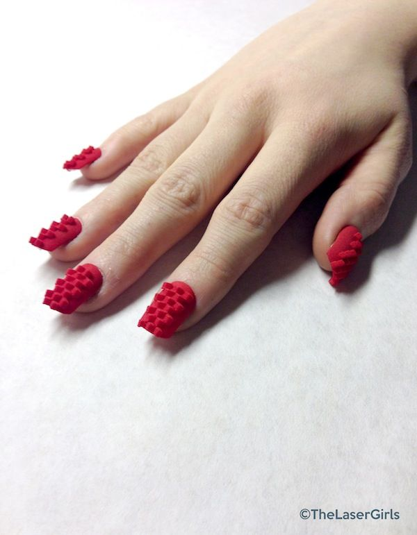 Manicure Of The Future 3d Printed Fingernails 3d Nail Art