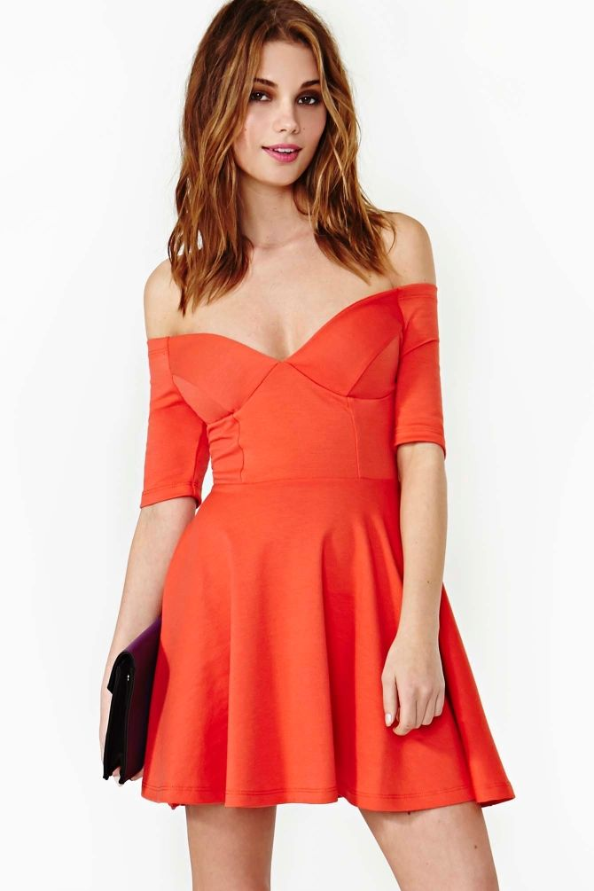 Hot Ticket Skater Dress in Poppy  Skater Dress cute #collectiondress #casualoutfit #jamesfaith712  #SkaterDress #Skater #Dress #newdressforwomen  www.2dayslook.com