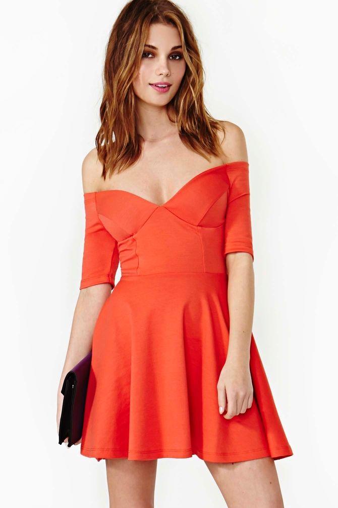 Hot Ticket Skater Dress in Poppy  Skater Dress cute #collectiondress #casualoutfit #jamesfaith712  #SkaterDress #Skater #Dress #newdressforwomen  www.2dayslook.com