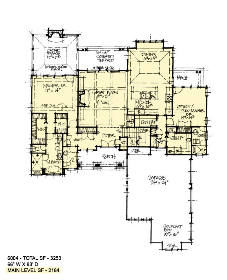 House Plan 6004 Executive Two Story House Plans New House Plans House Floor Plans