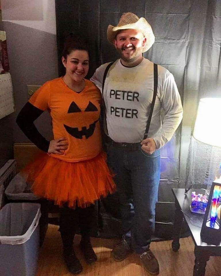 40+ Oh-So-Innovative DIY Couple Halloween Costume Ideas For The You And You Partner-In-Crime  sc 1 st  Pinterest & 40+ Oh-So-Innovative DIY Couple Halloween Costume Ideas For The You ...
