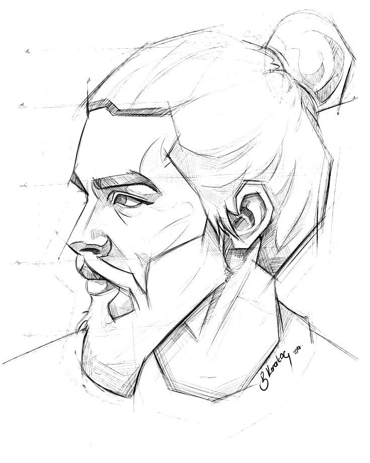 Daily sketch (SketchBook) per My Mobile Drawing Samsung Galaxy Note 3 ......... .. , Daily sketch