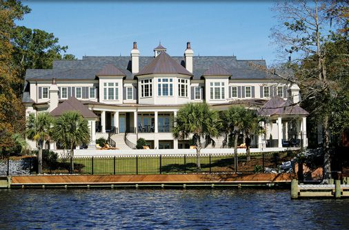 Tab Premium Built Homes in New Bern, NC built this home for Nicholas Sparks, the well-known Author