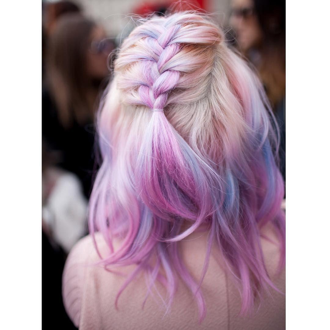 Instagram hair pinterest braid hair egg hair and unicorn hair
