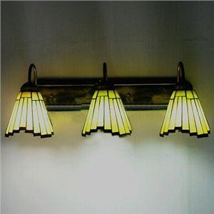 3 Lampes lampe en haut Irrégulier Bar Motif Tiffany Lampe murale