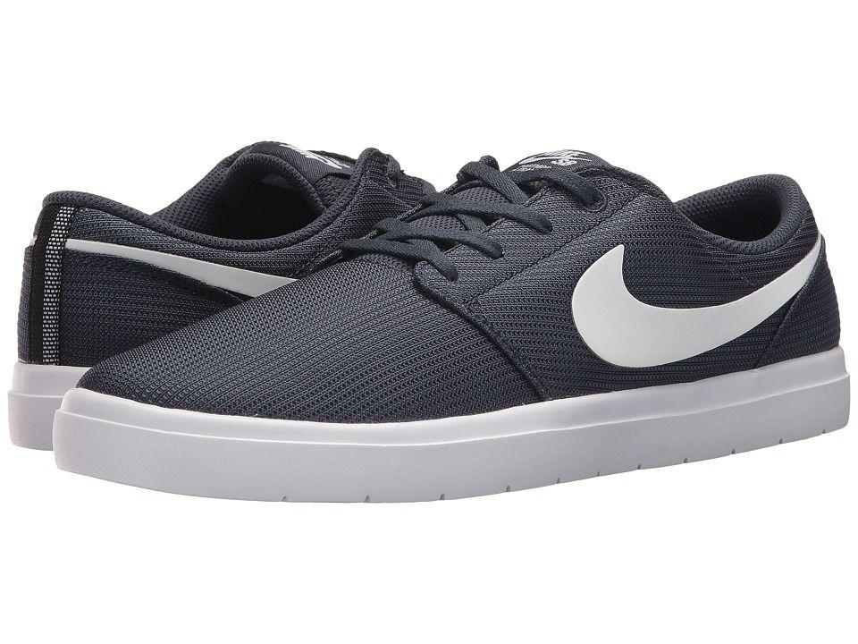 a353ae2d44cb Nike SB Portmore II Ultralight (Thunder Blue White Black) Men s Skate Shoes