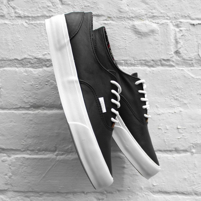 Vans Era Decon CA (Nappa Leather) Black California