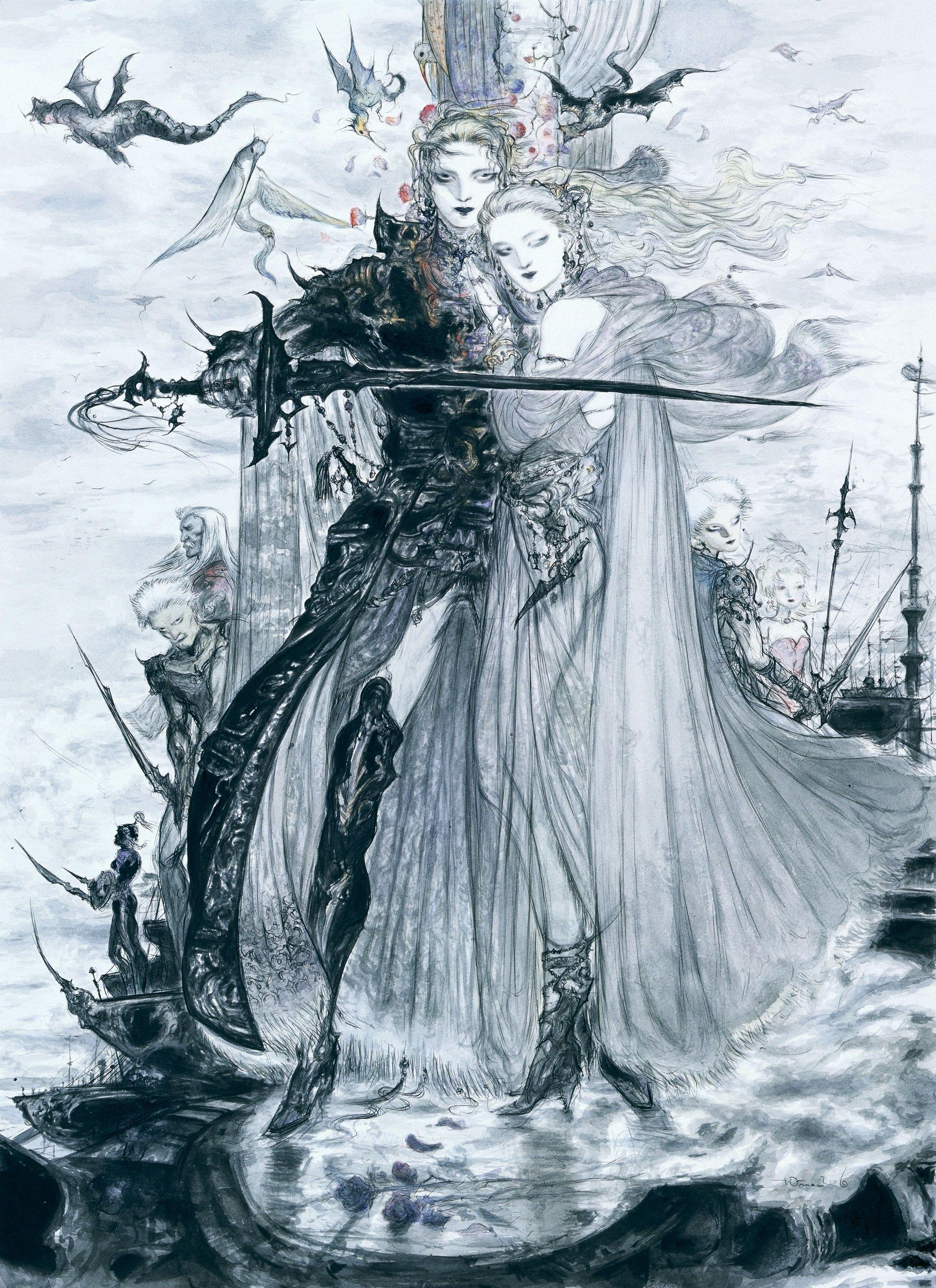 Final Fantasy Dissidia Terry Branford Fantasy Artwork Landscape Final Fantasy Art Fantasy Artwork