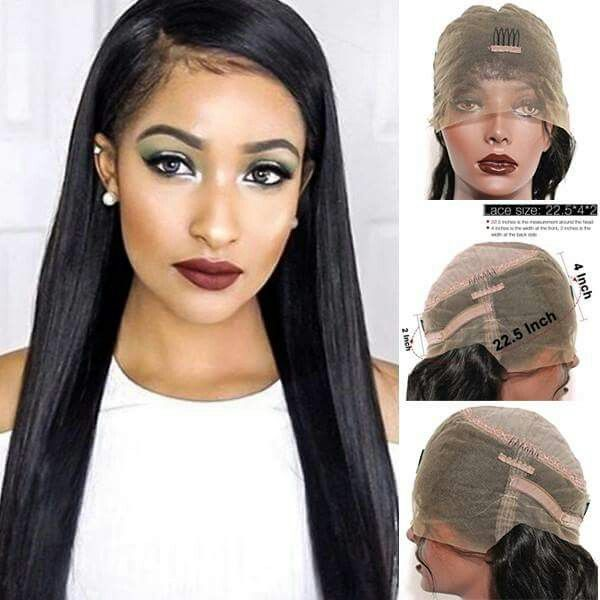 Pin By Esther On Adult Hairstyles Pinterest Wig Weave Ponytail