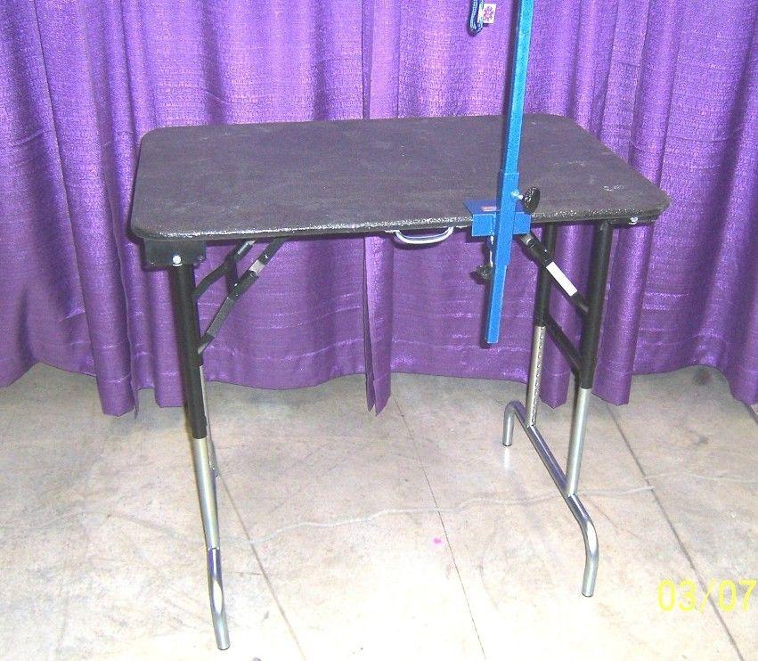 diy small dog grooming table