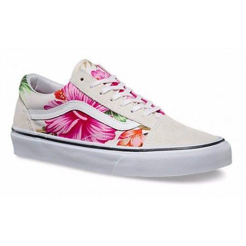 vans old skool hawaiian floral