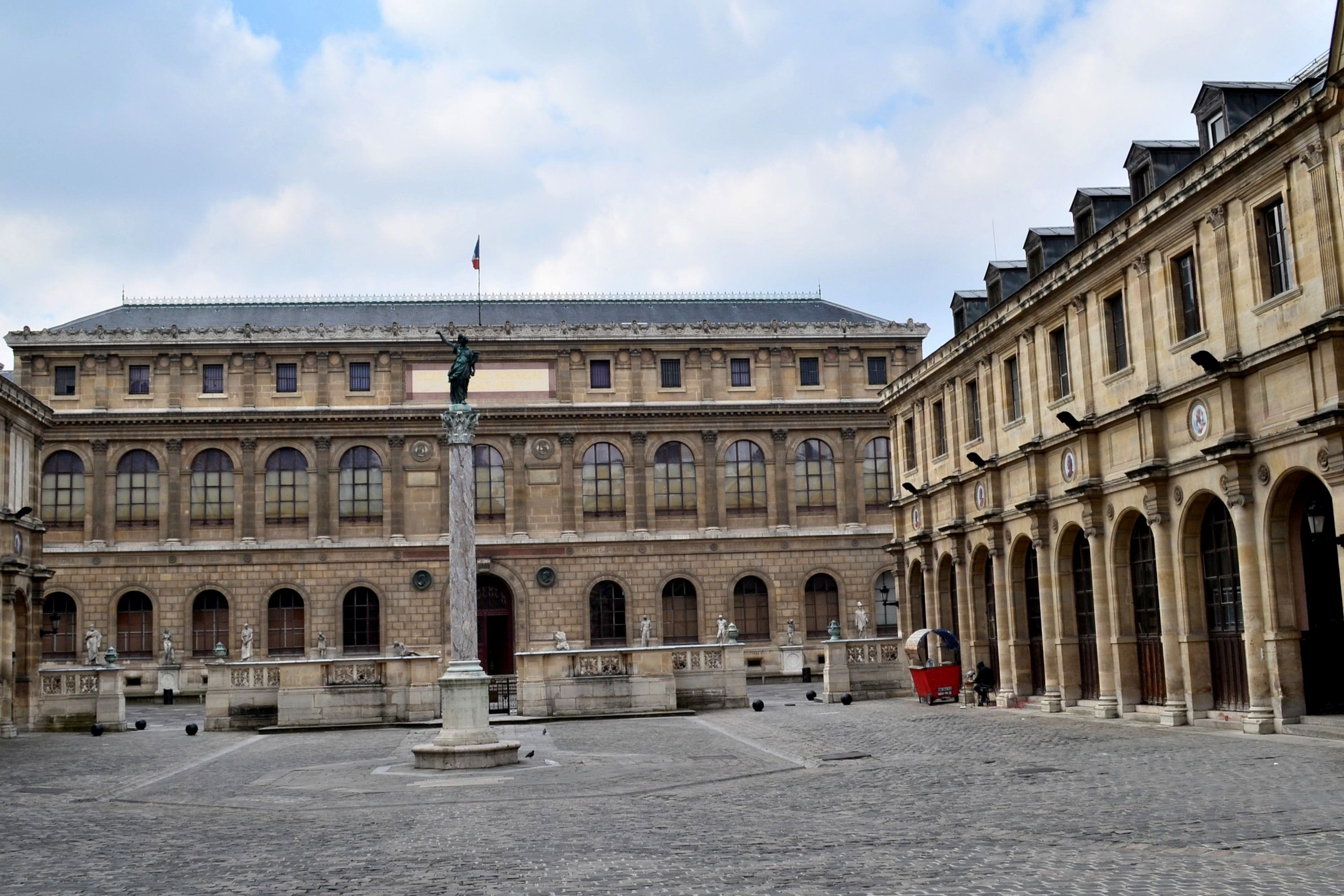 Bien-aimé 19TH CENTURY, France - Félix Jacques Duban (1797-1870): Ecole des  CE42