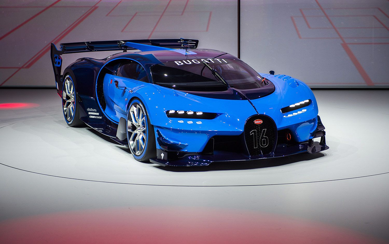 Frankfurt 2015 Automovile Saloon. Bugatti, Bugatti