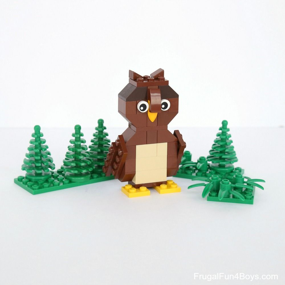 Simple Brick Birds Building Instructions Lego Lego Group And Building