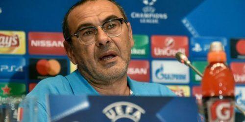 Napoli Sarri: Temo il Benfica serve laiuto del San Paolo