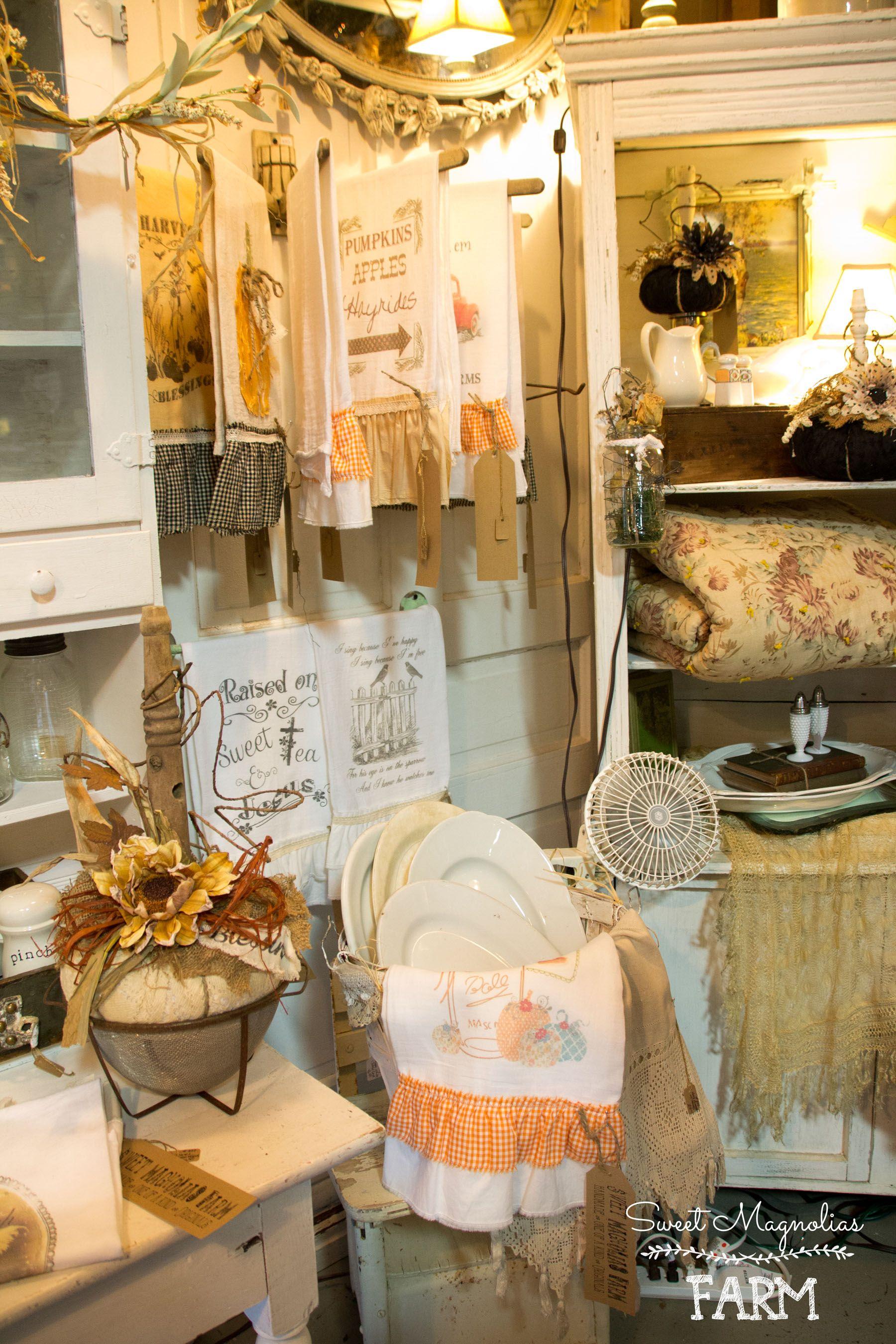 Sweet Magnolias Farm Shop Display Vignette ~ Fall ...