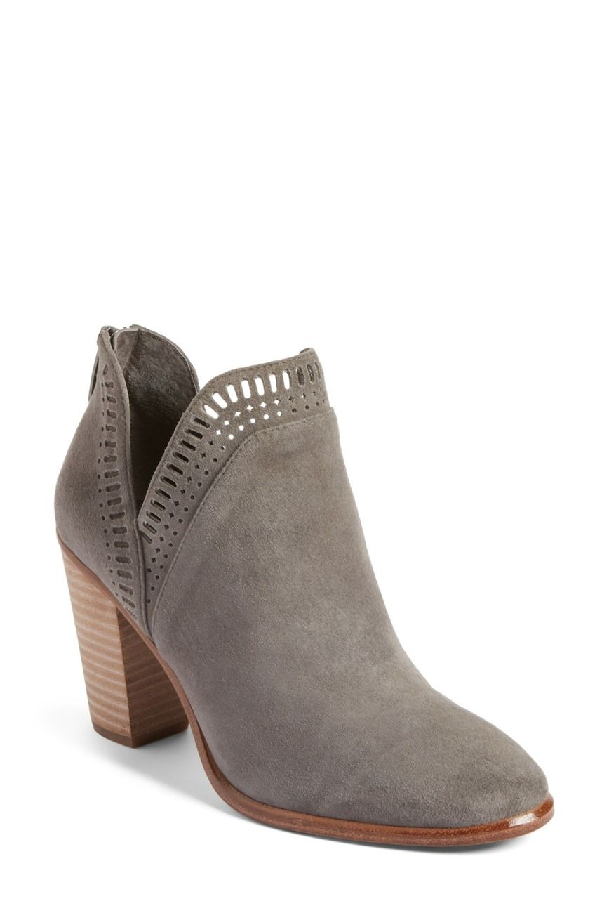 be73d36733c Vince Camuto Fileana Split Shaft Bootie - Grey. Available at Nordstrom Rack   affiliate
