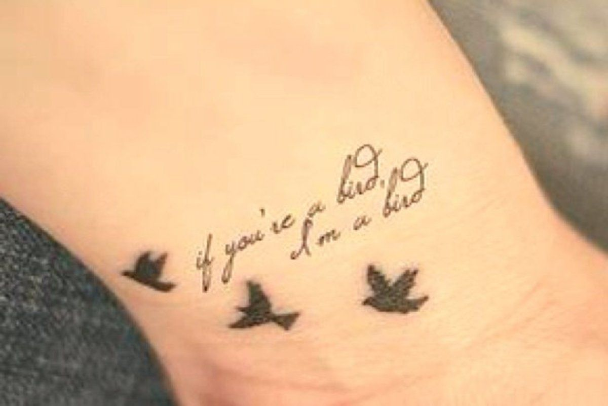 55c6fa0df Beautiful and subtle literary tattoos to reference your favourite books