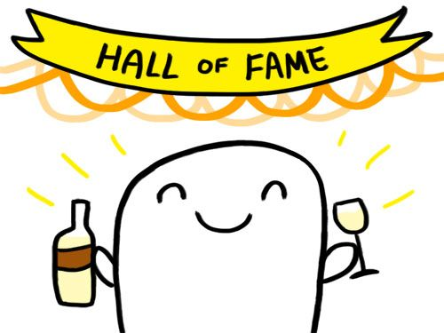 white wine hall of fame