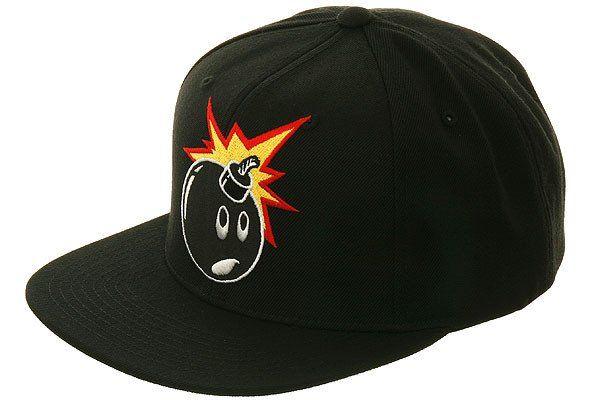 6532f969ea3 The Hundreds Forever Adam Bomb Snapback Hat - Black - Hat Club ...