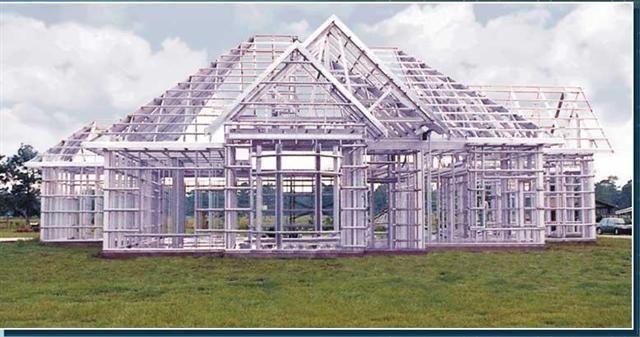 Présentation et description du0027une ossature métallique Maison