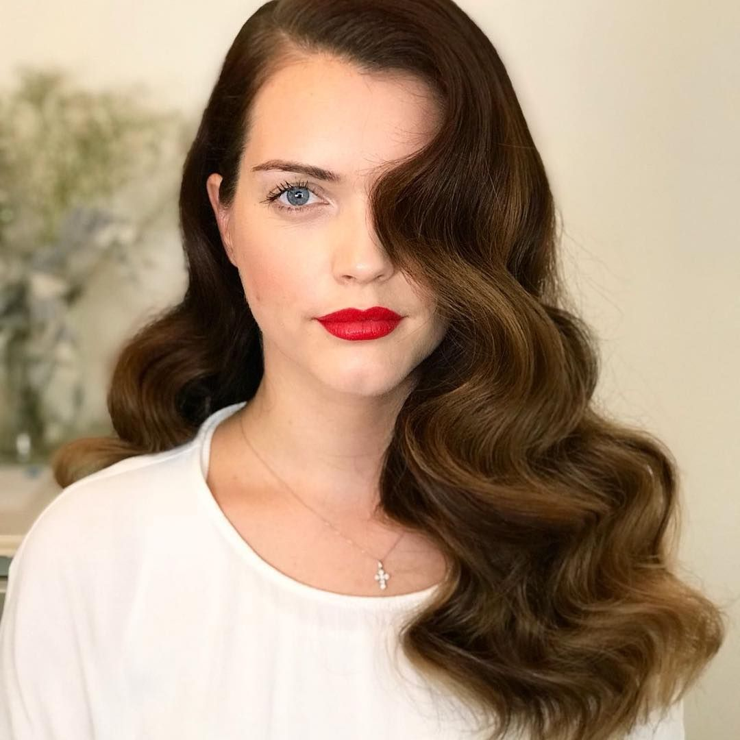 Hollywood Waves Perfection #hollywoodwaves #hairstyle
