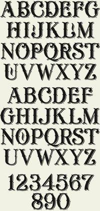 Letterhead Fonts  Lhf General Store Decorative Fonts  Fonts
