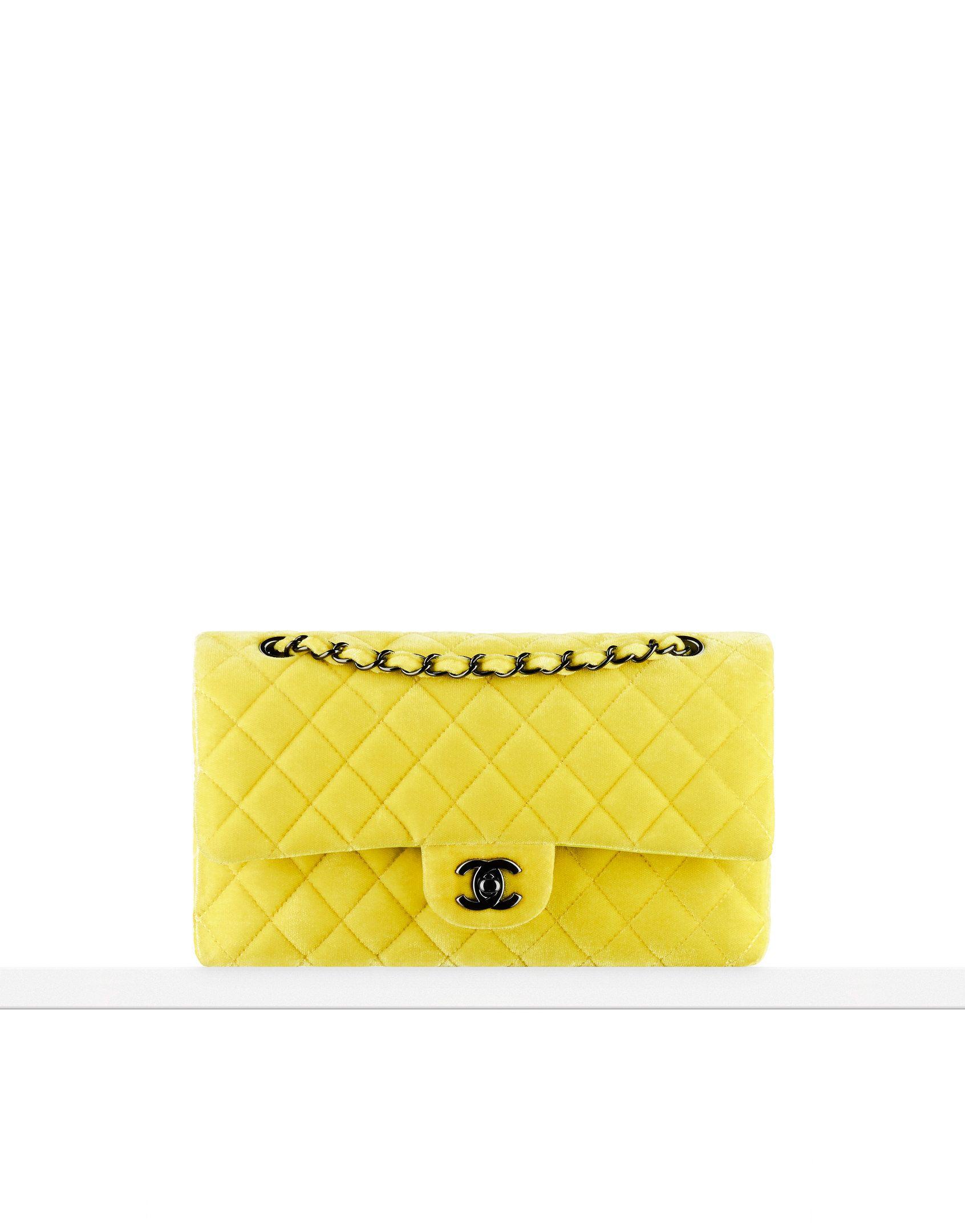 Velvet classic bag - CHANEL