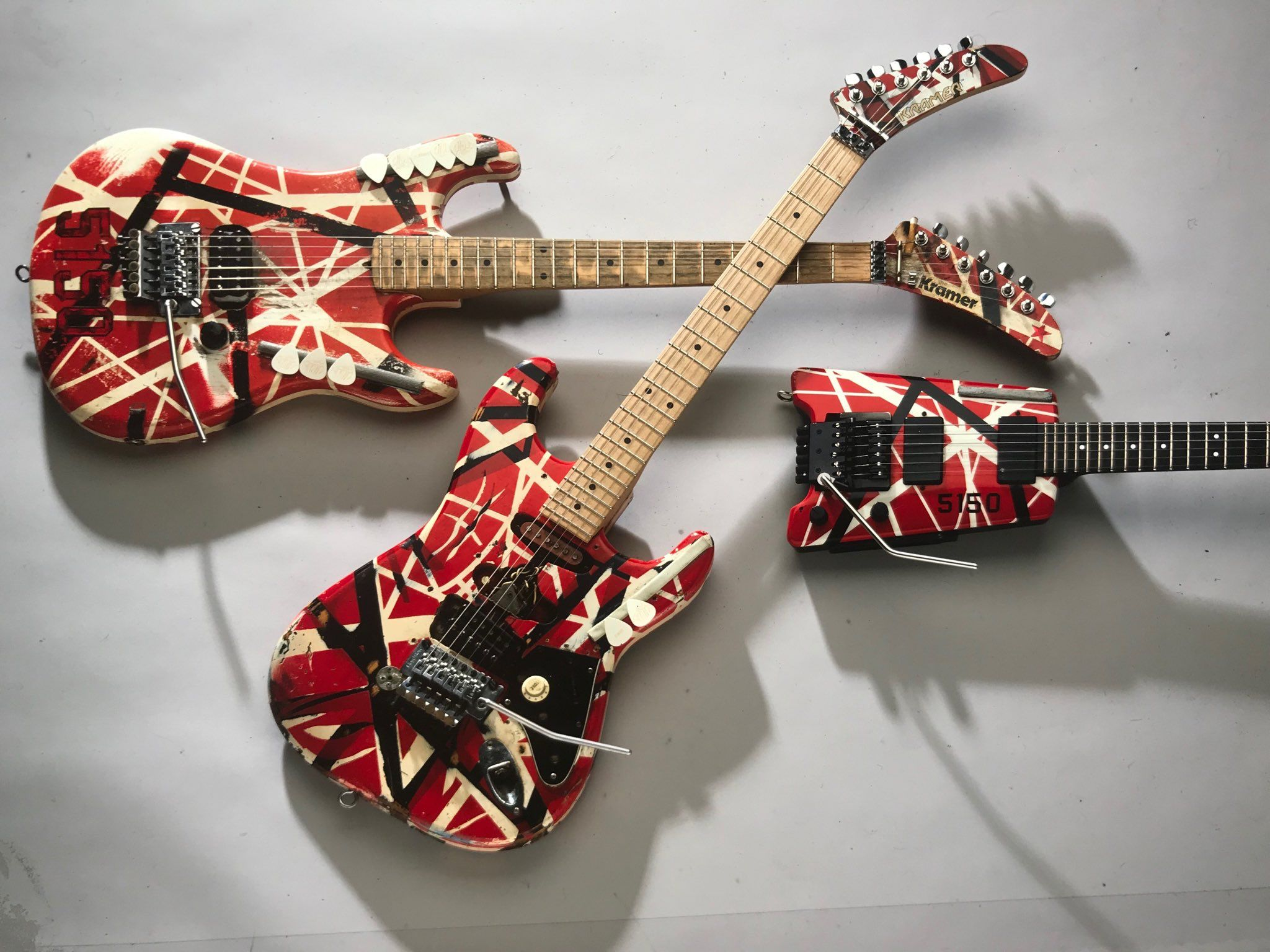 Eddie Van Halen Kramer Van Halen Cool Guitar Electric Guitar