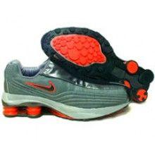 wholesale dealer 1fe48 a56c3 Nike Shox R4 Plus 104311 001 grey red   NIKE   Nike ...