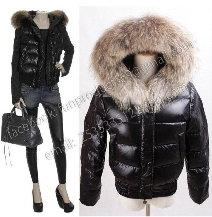 -Brand-new-quilted-gilet-with-racoon-fur-trimmed- Mongolia