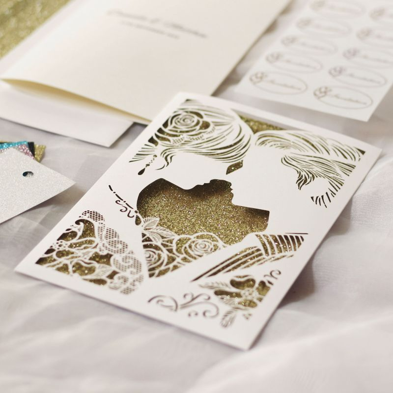 15 Beautiful Laser Cut 3D Wedding Invitations To Impress Your Guests ...