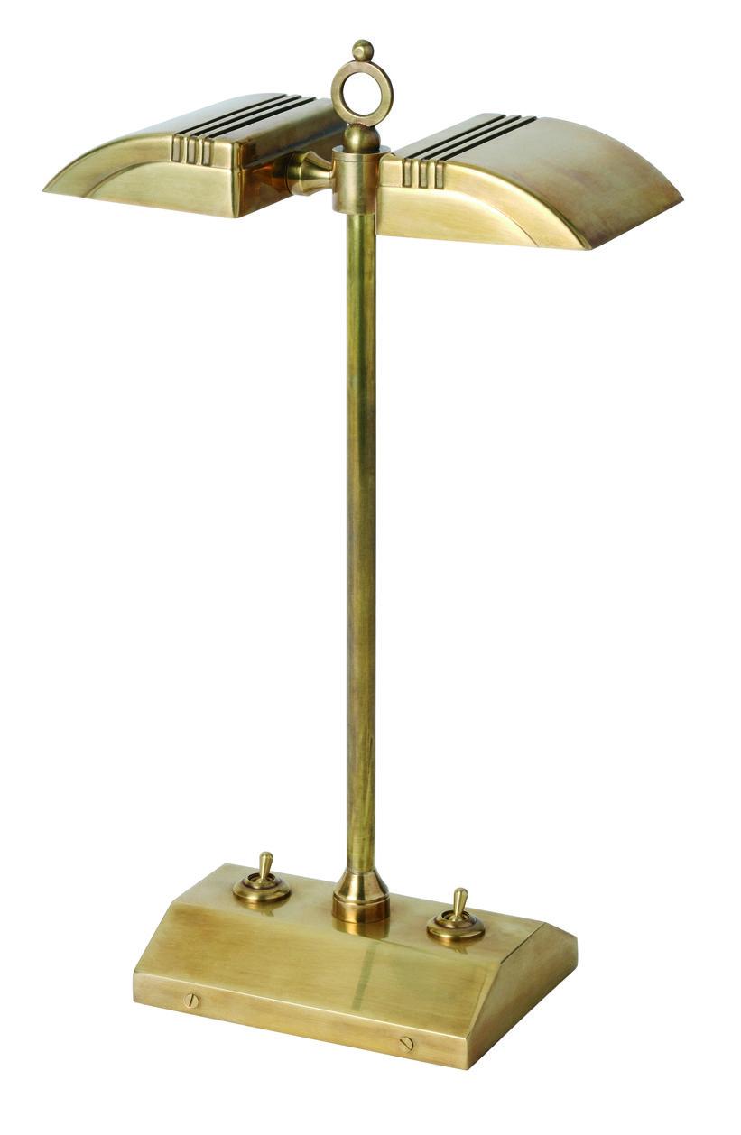 T2 012 Double Arrow Halogen Bankers Lamp Bankers Lamp Table Lamp Desk Lamp