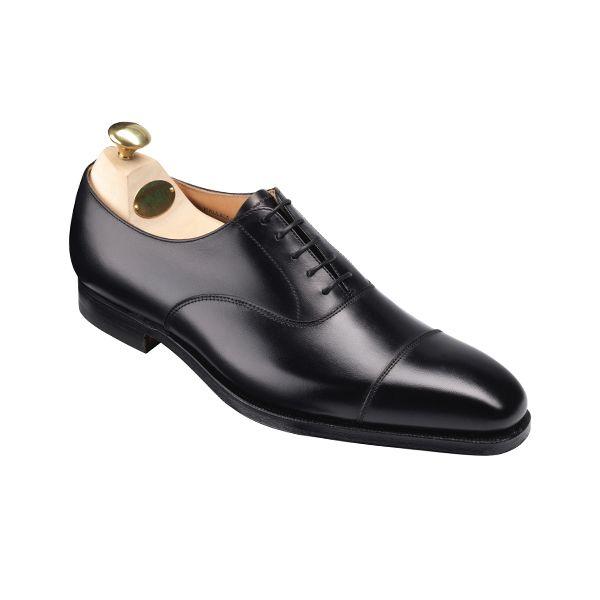Hallam - Black Calf | Crockett & Jones | shoes - oxford ...