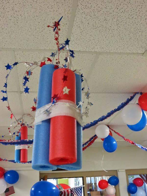 10 Things To Do With A Pool Noodle Pool Noodle Crafts Your Kids Will Love 5 4th Of July Parade 4th Of July Party 4th Of July Decorations