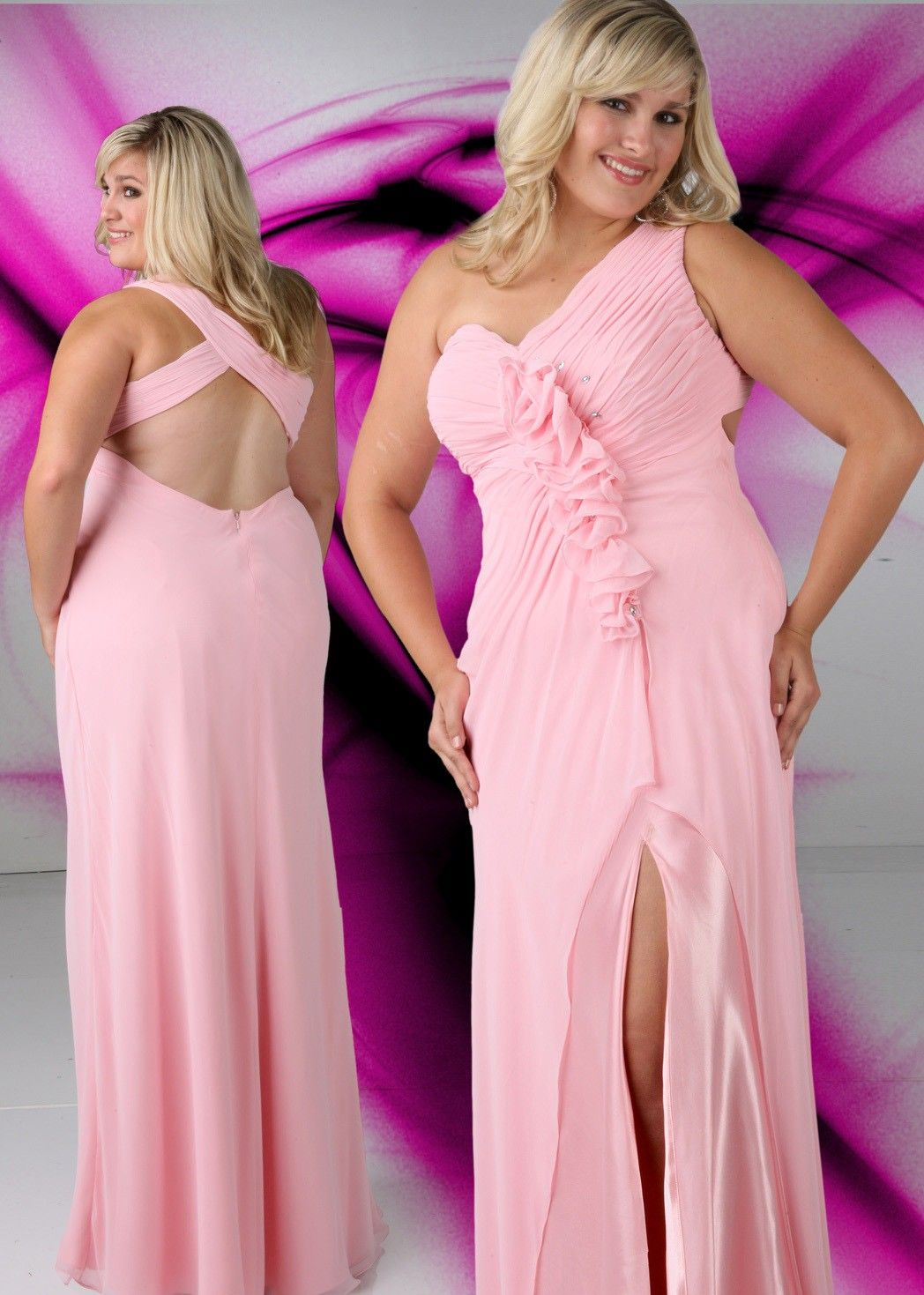 Xcite plus full figured prom collection style prom