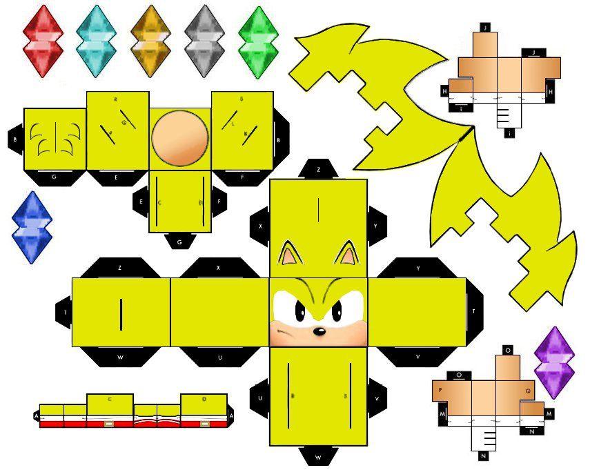 Classic Super Sonic Sonic The Hedgehog Sonic Birthday Sonic