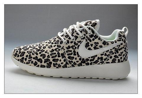 vente chaude en ligne 211fe b0625 n085 - Nike Roshe Run (Leopard Prints Black/White ...