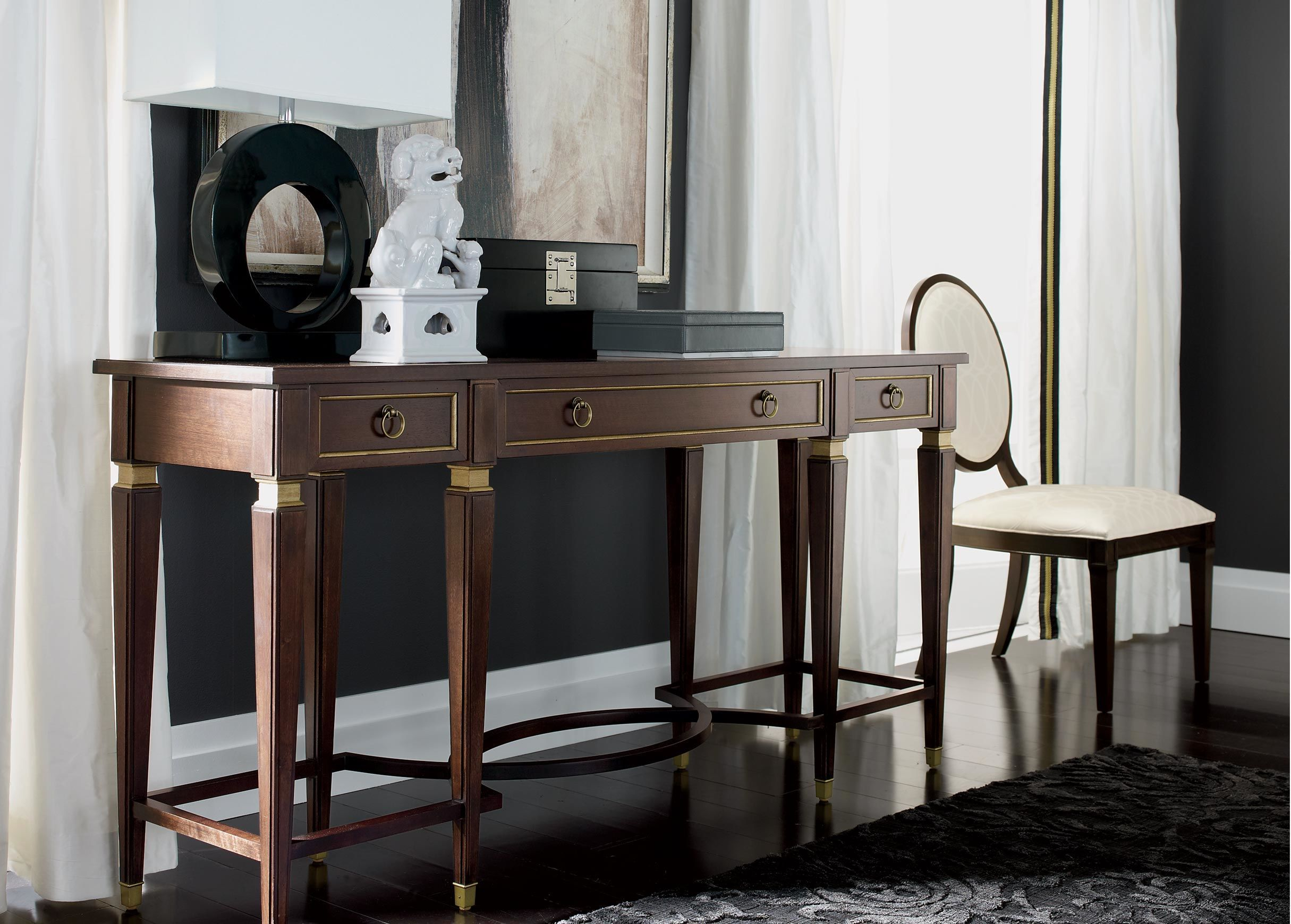 Left-Facing Foo Dog | Console table, Dining room ...