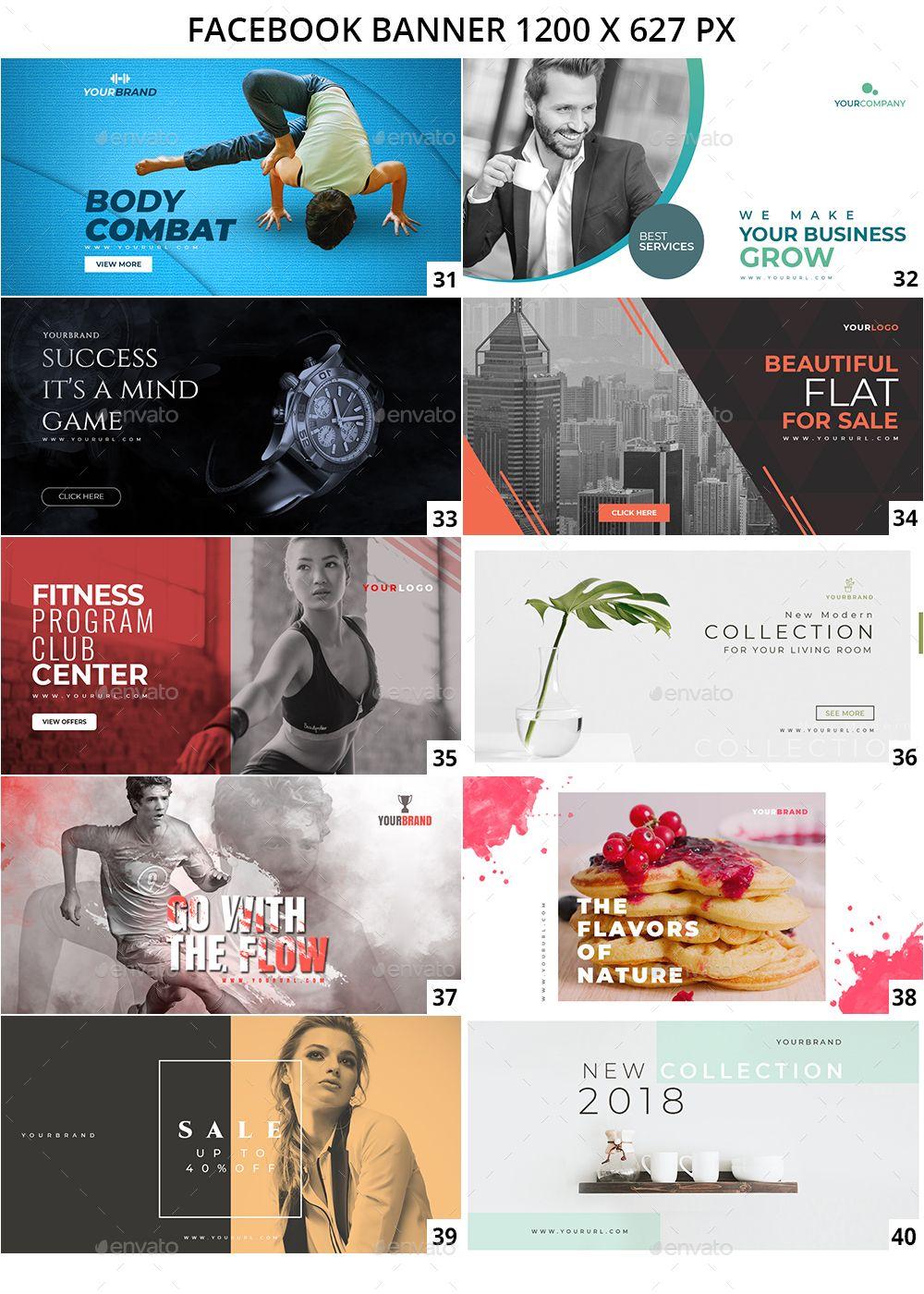 100 Facebook Multipurpose Banners Facebook Ads Design Banner Ads Design Banner Design Inspiration