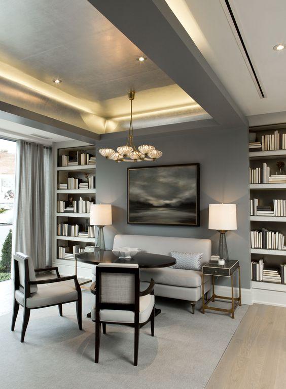 Modern Classic Living Room Interior Design: Living Room Ceiling, Modern Classic