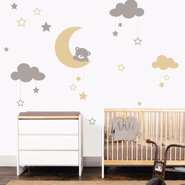 Moon Bear Infantil My vinilo vinilos decorativos decoración de