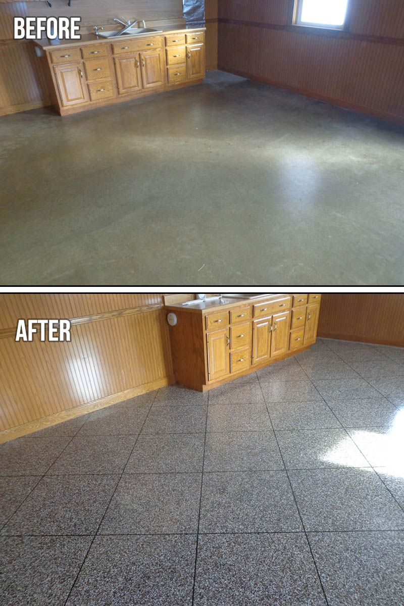 Epoxy Flake Tile Flooring - For optimal strength, we use The ...