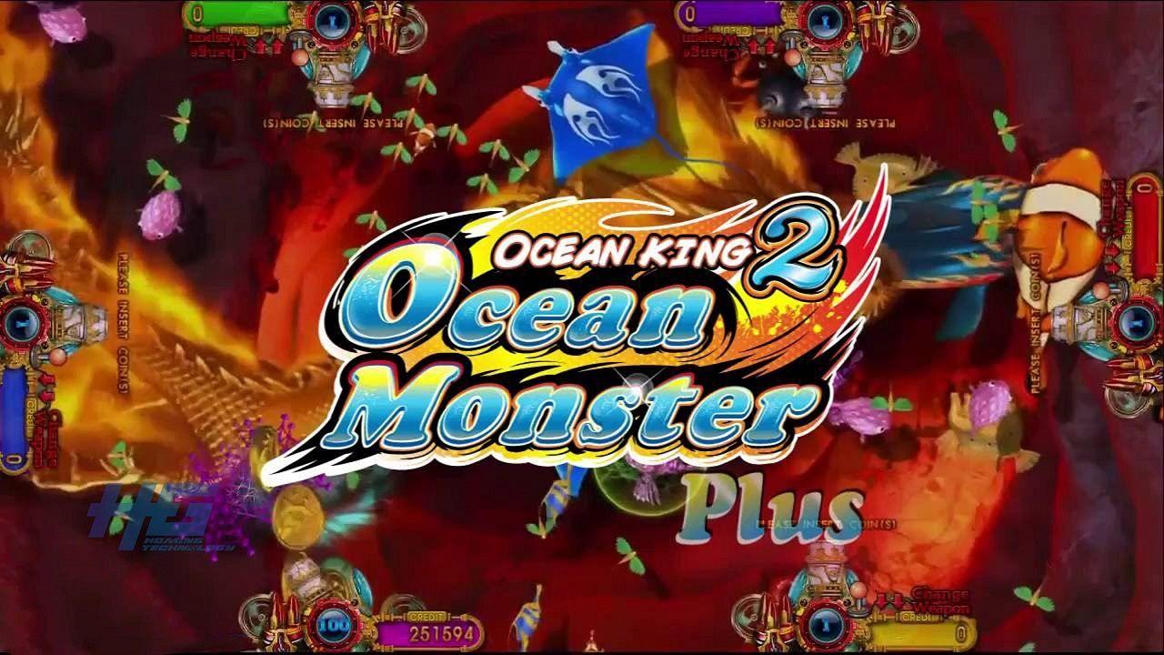 Hot Fish Hunter Gambling Game Original Ocean Monster Plus Fishing Game For Sale Business Whatsapp Ocean Monsters Game Sales Fishing Game