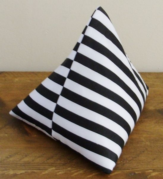 Black & White Striped Door Stop £10 #craftfest
