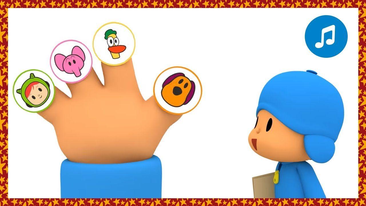 Canciones Infantiles De Pocoyo Finger Family Caricaturas Y Dibujos Animados Para Canciones Infantiles Ninos Dibujos Animados Canciones Para Bebes