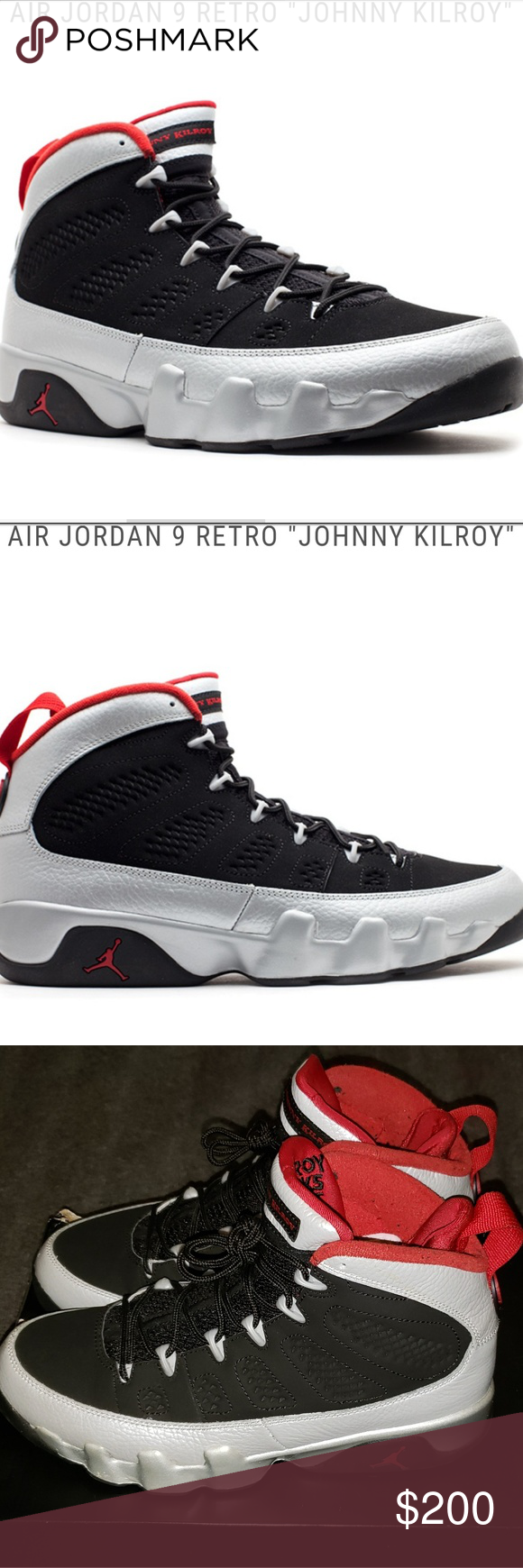 8a18f79b44e Retro Jordan 9 Rare Jordan 9 Johnny Kilroy Edition Jordan Shoes Sneakers